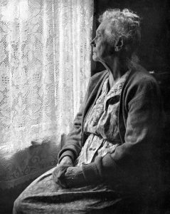 Elderly_Woman_BW_image_by_Chalmers_Butterfield-239x300