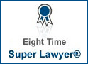 Eight Time Super Lawyer